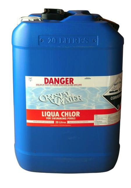 Buy Liquid Chlorine 20L (container additional) in NZ.