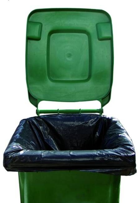 Buy RUBBISH BAG - WHEELIE BIN LINER - 200 PER CTN - 750 X 1500cm in NZ.
