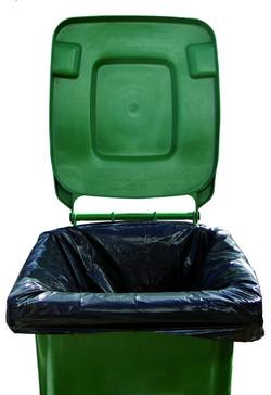 Buy RUBBISH BAG - WHEELIE BIN LINER - 200 PER CTN - 750 X 1500cm in NZ New Zealand.